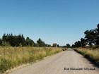 Stara trasa kolejowa Gołubie-Kościerzyna Widok od Gołubia
