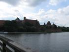 Zamek w Malborku.