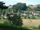 Borzestowo - widok na wieś