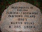 Nagrobek przodków z Parchowa (obecnie w Szymbarku)