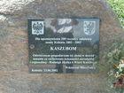 Kolonia - pomnik jubileuszowy, tablica