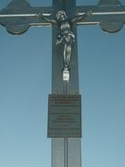 Kamień w Wieprznicy - krzyż pamiątkowy