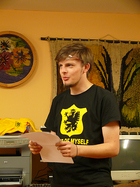 Mateusz Meyer czyta swoje poezje...