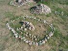 Kamienne modele - dolmen i kurhan