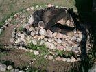 Kamienne modele - piec do podpłomyków