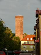 Wieża (stołp) człuchowskiego zamku