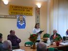 Referat Sławomira Cholchy na temat Ceynowy prezentuje Bogumiła Cirocka