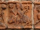 31 Drawsko - postać na świni (portal południowy)