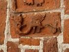 39 Drawsko - postać diabła (portal północny)