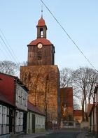 Średniowieczny kościół w Moryniu