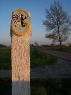 Słup graniczny gminy Sierakowice